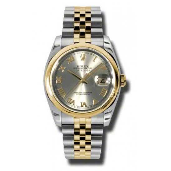 Rolex Datejust Steel Roman Jubilee 116203