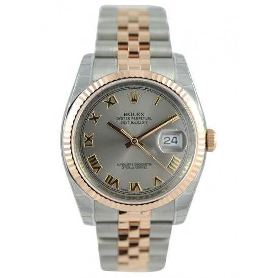Rolex Datejust Steel Roman Jubilee 116231