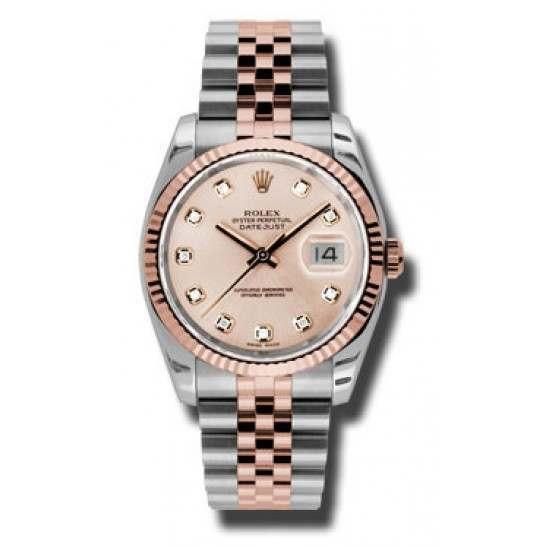 Rolex Datejust Pink/Diamond Jubilee 116231