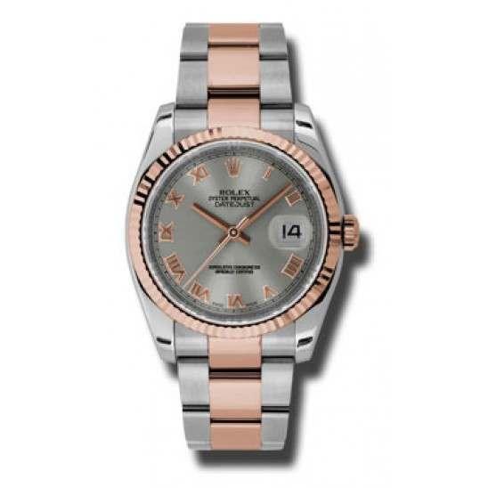 Rolex Datejust Steel Roman Oyster 116231