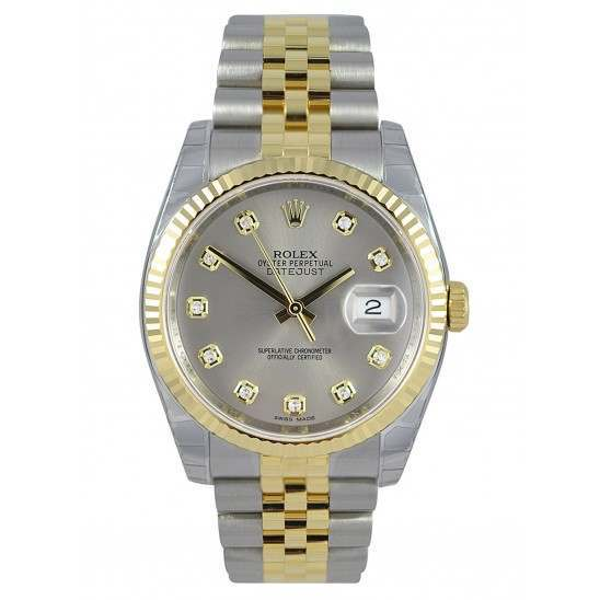 Rolex Datejust Steel/Diamond Jubilee 116233
