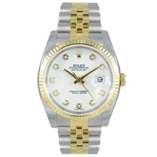 Rolex Datejust White/Diamond Jubilee 116233