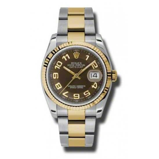 Rolex Datejust Bronze Arab Oyster 116233