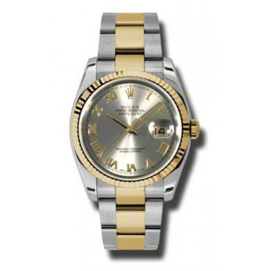 Rolex Datejust Steel Roman Oyster 116233