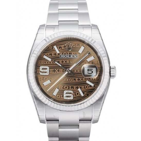 Rolex Datejust Bronze/Diamond Oyster 116234