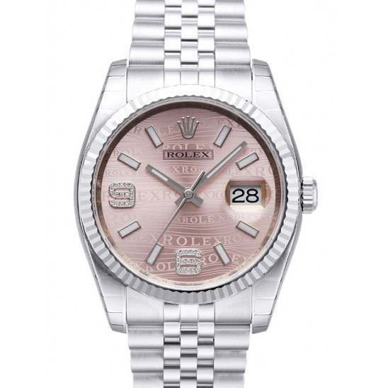 Rolex Datejust Pink/Diamond Jubilee 116234