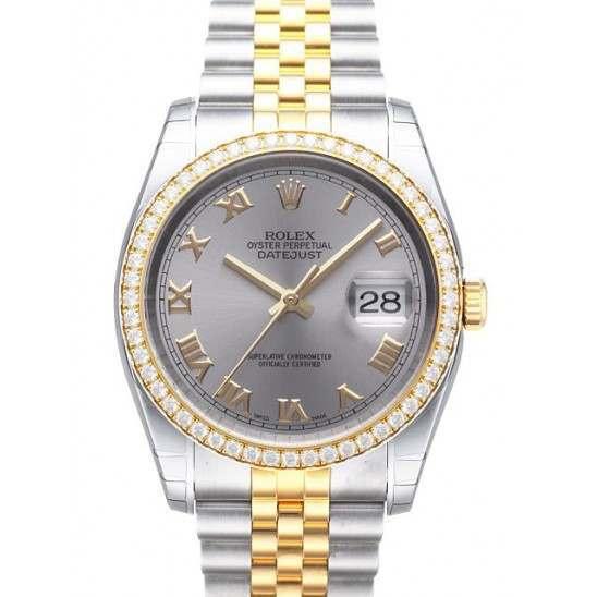Rolex Datejust Steel Roman Jubilee 116243