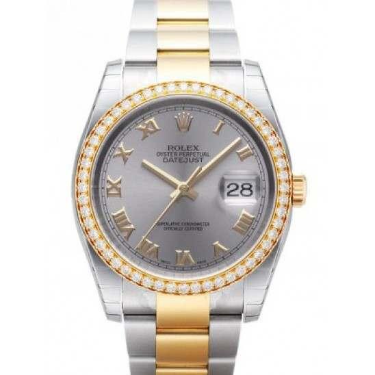 Rolex Datejust Steel Roman Oyster 116243