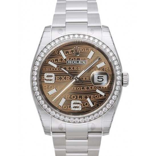 Rolex Datejust Bronze/Diamond Oyster 116244