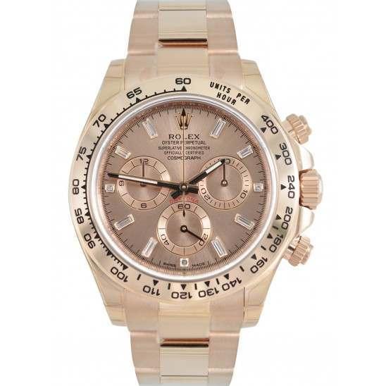 Rolex Cosmograph Daytona Pink/Diamond 116505