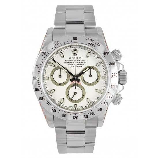 Mint Rolex Daytona White dial 116520