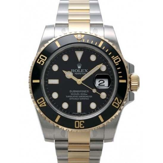 Rolex Submariner Steel & Gold- 116613LN