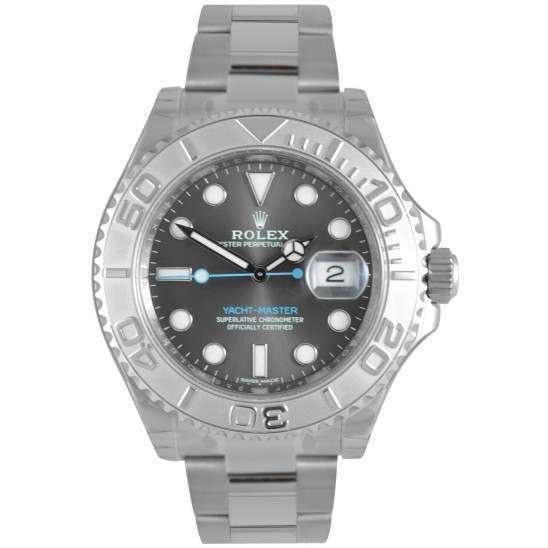Rolex Yacht-Master 40mm Dark Rhodium/index Oyster 116622