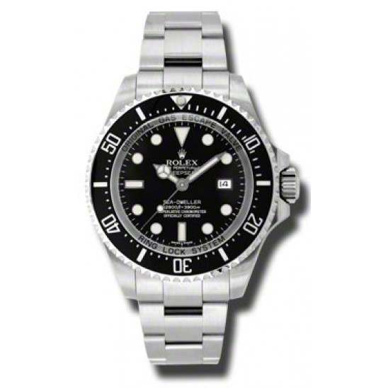 As New Rolex Sea-Dweller Deepsea 116660 - March 2015 Watch