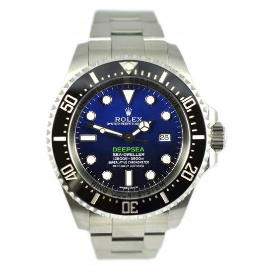 As New Rolex Sea-Dweller Deepsea D-Blue dial Oyster 116660