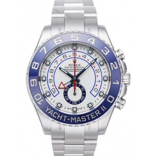 Rolex YachtMaster II Edelstahl 116680 Front