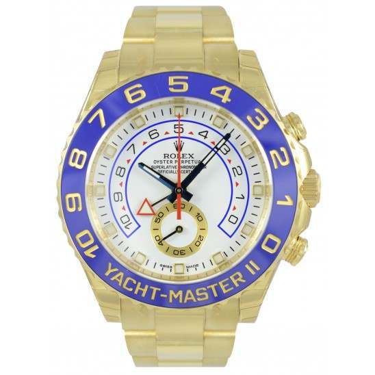 Rolex Yacht-Master II 44mm White/Hour Markers Oyster 116688