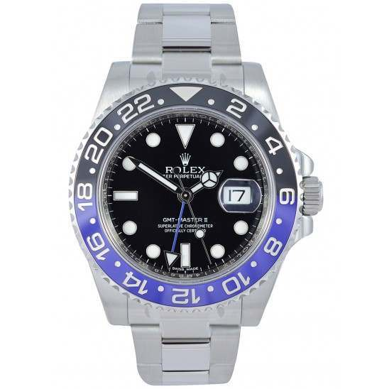 Rolex GMT-Master II Steel Black and Blue 116710BLNR
