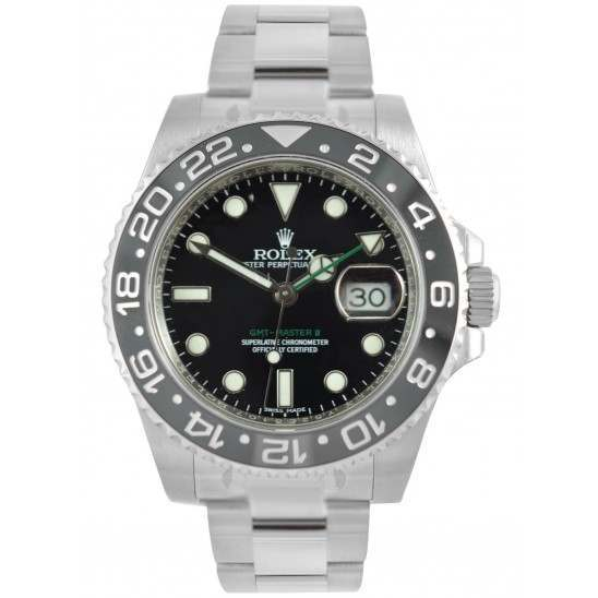 Rolex GMT-Master II Stainless Steel Sea King Limited Edition 116710LN