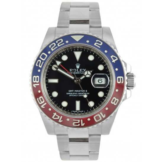 Rolex GMT-Master II Blue and Red Bezel 116719BLRO