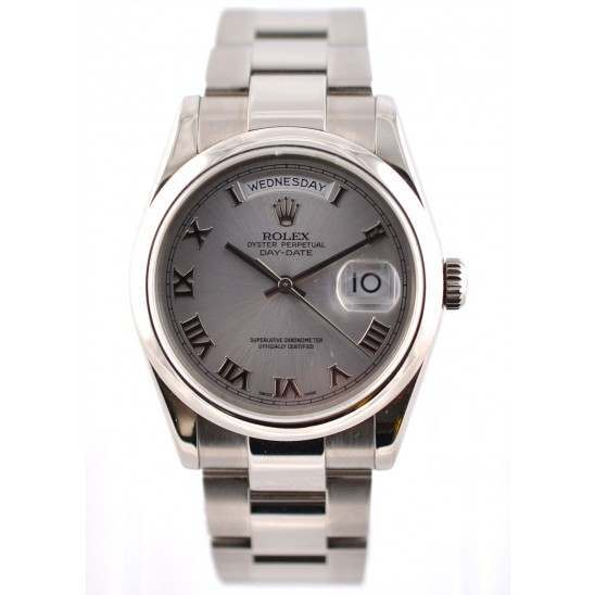 Rolex DayDate  118209SR Mint Preowned front