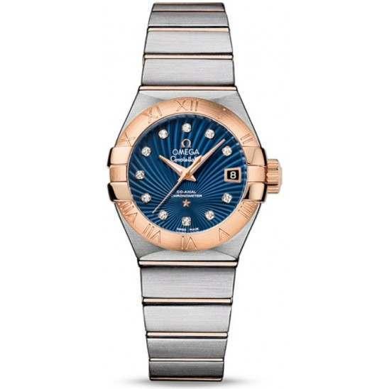 Omega Constellation Brushed Chronometer 123.20.27.20.53.001