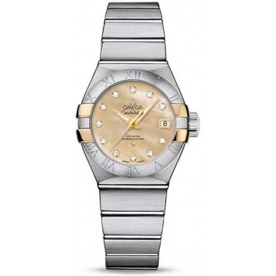 Omega Constellation Brushed Chronometer 123.20.27.20.57.003
