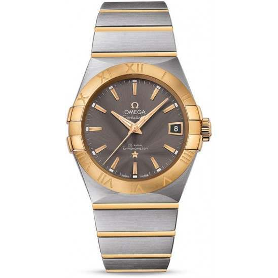 Omega Constellation Chronometer 38mm 123.20.38.21.06.001