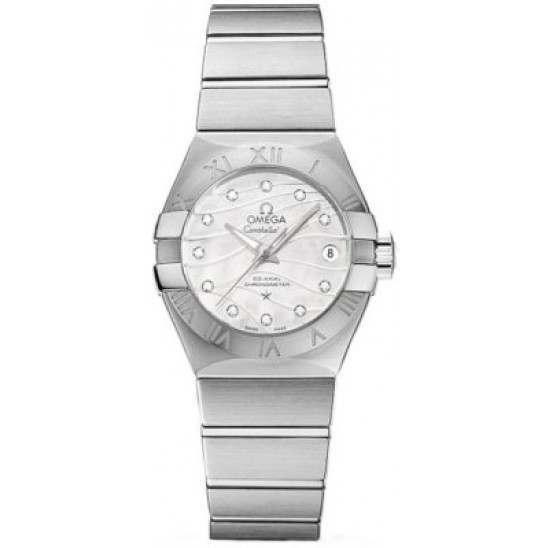 Omega Constellation Brushed Chronometer Automatic 123.10.27.20.55.002