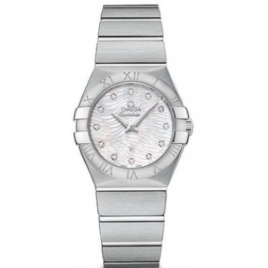 Omega Constellation Brushed (27mm) Quartz 123.10.27.60.55.004