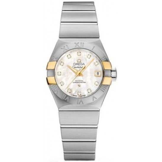 Omega Constellation Brushed Chronometer Automatic 123.20.27.20.55.005