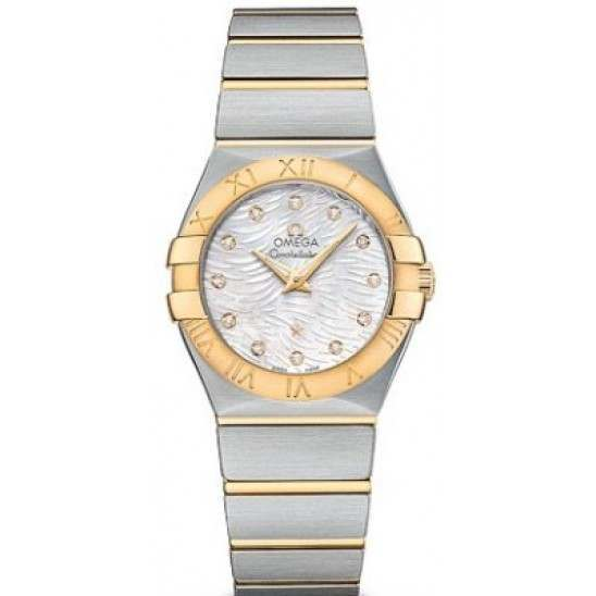 Omega Constellation Brushed (27mm) Quartz 123.20.27.60.55.008