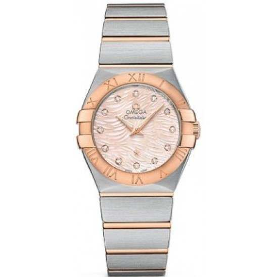 Omega Constellation Brushed (27mm) Quartz 123.20.27.60.57.004