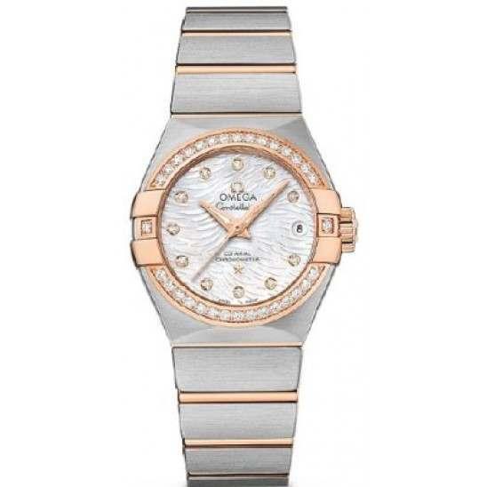 Omega Constellation Brushed Chronometer Automatic 123.25.27.20.55.006