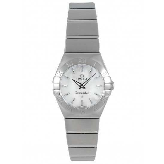 Omega Constellation Brushed Quartz 123.10.24.60.05.001|