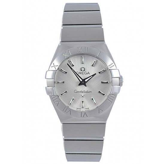 Omega Constellation Brushed Quartz 123.10.27.60.02.001