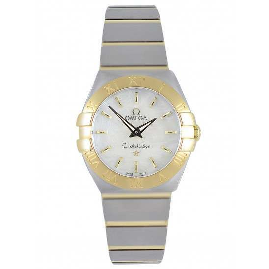 Omega Constellation Brushed Quartz 123.20.24.60.05.002