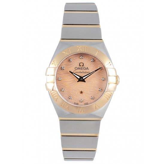 Omega Constellation Brushed (24mm) Quartz 123.20.24.60.57.003
