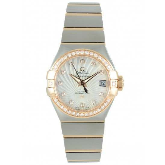 Omega Constellation Brushed Chronometer 123.25.27.20.55.001