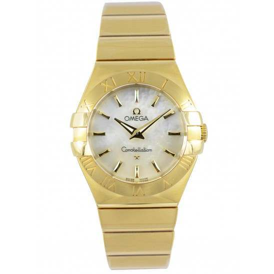 Omega Constellation Brushed Quartz 123.50.27.60.05.002
