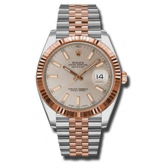 Rolex Datejust 41 Steel and Gold Sundust/index Jubilee 126331