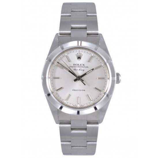 Rolex Air-King Stainless Steel Silver dial Oyster 14010M