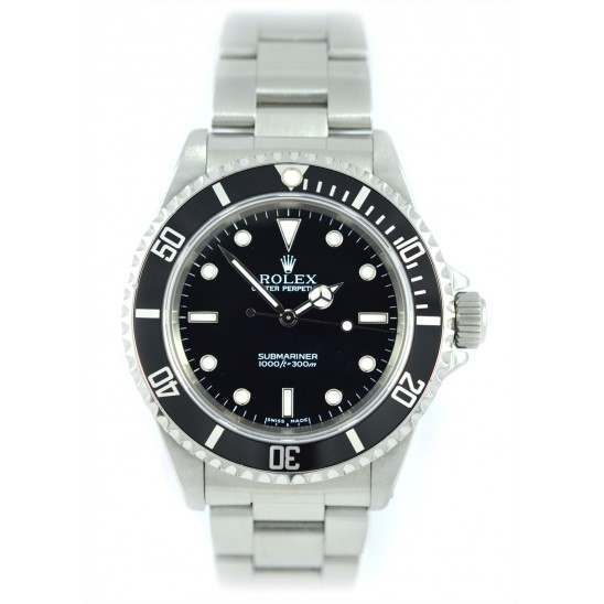 Rolex Submariner Non Date 14060M Rolex Warranty