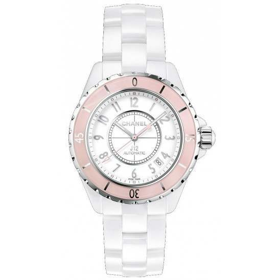 Chanel J12 Soft Rose Automatic 38mm H4468