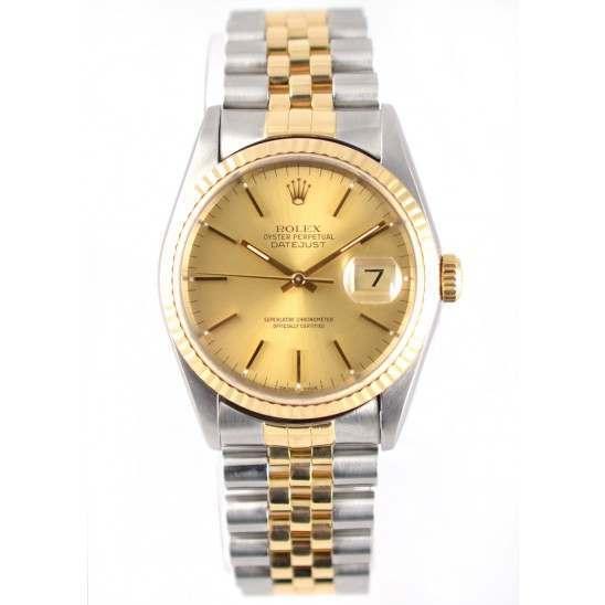 Rolex DateJust  Steel & Gold 16233