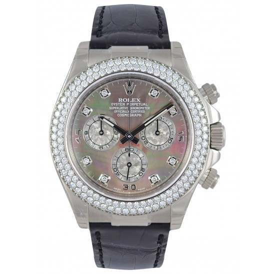Rolex Daytona Diamond Bezel 16589RBR