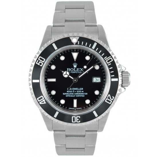 Rolex Seadweller Steel Black dial 16600