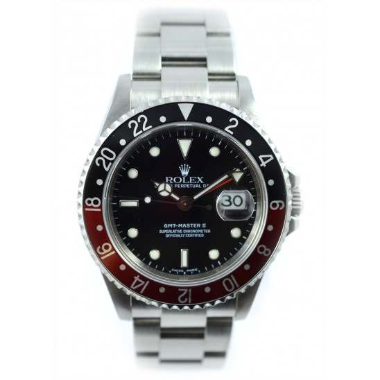 Rolex GMT II Black and Red, great example 16710