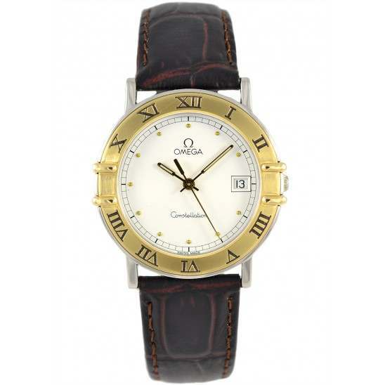 Omega Constellation Leather Strap 5162.77.17