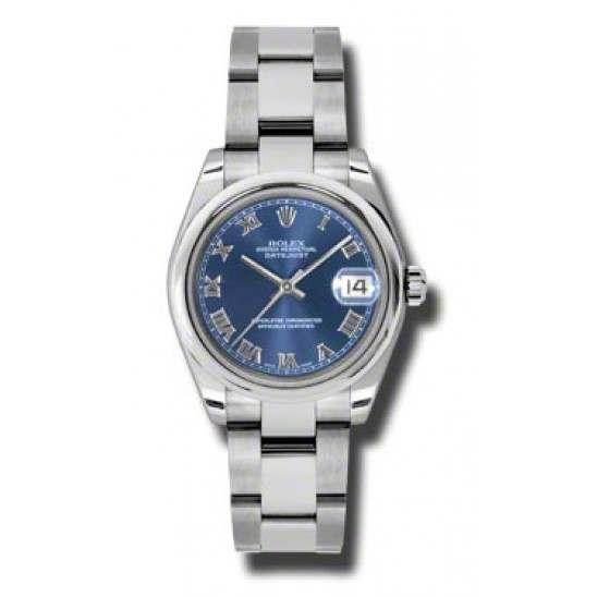 Rolex Lady Datejust 31mm Blue Roman Oyster 178240